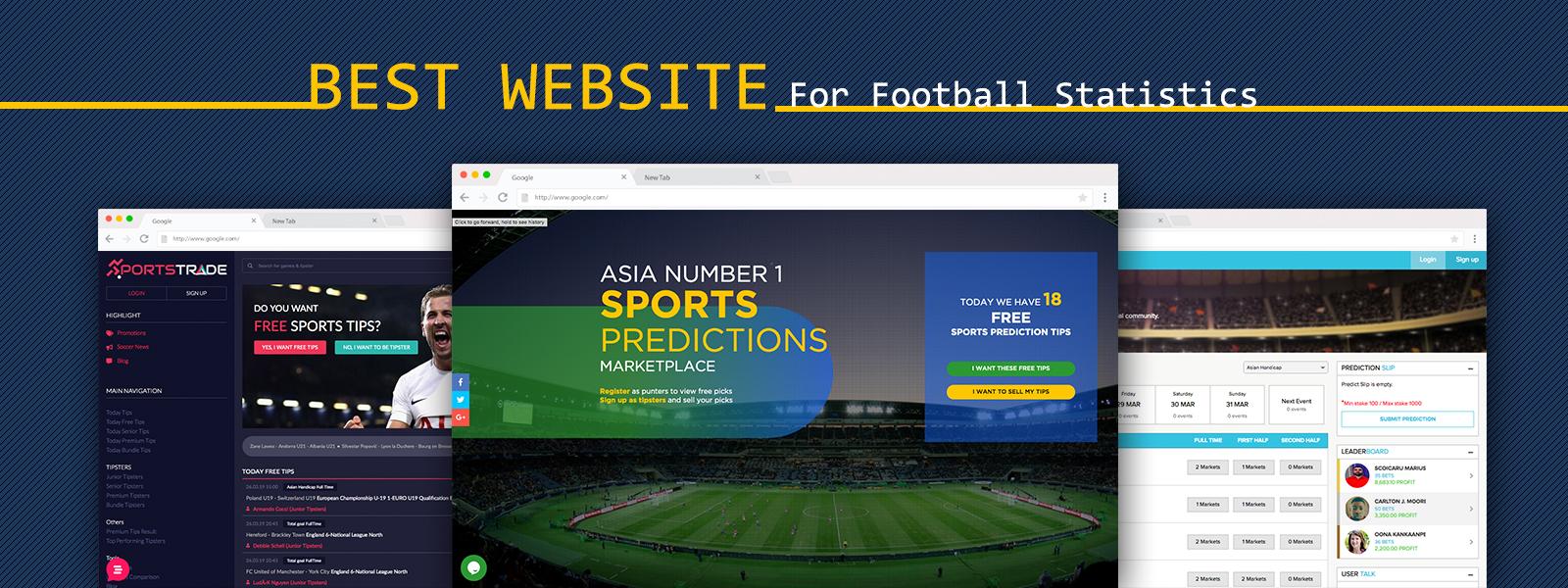 Best Website For Football Statistics